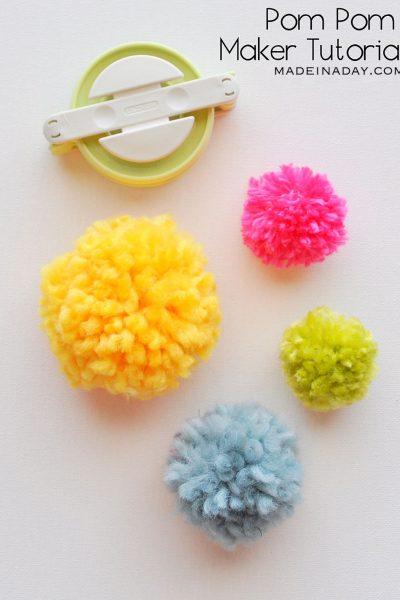 Pom Poms Made Easy: Clover Pom Pom Maker Tutorial