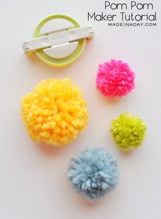 Pom Poms Made Easy: Clover Pom Pom Maker Tutorial 31