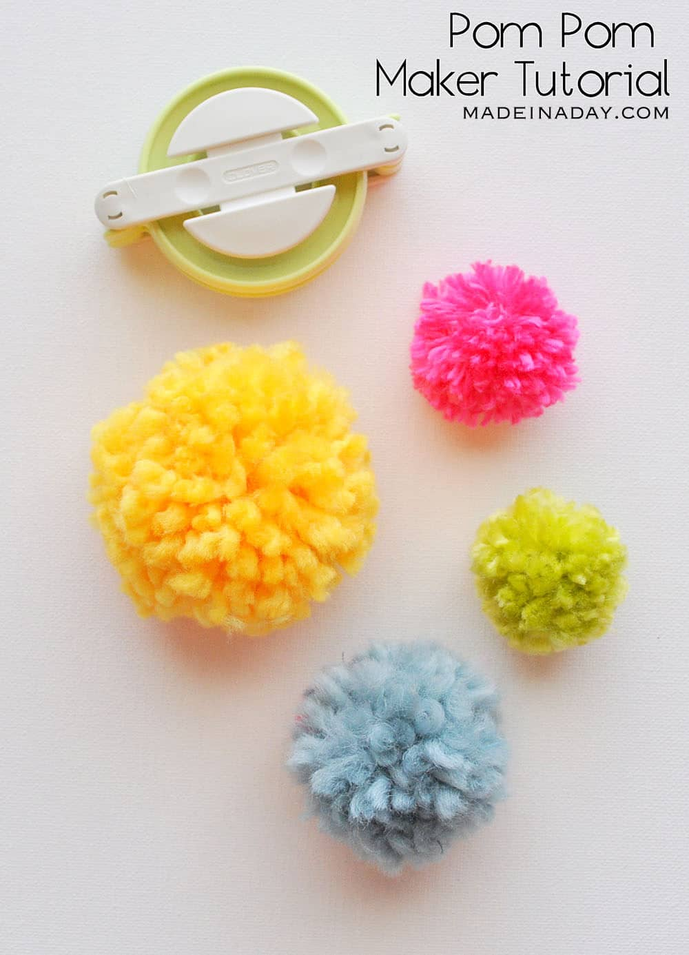 Clover pom maker tutorial