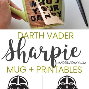 How to Make a Darth Vader Sharpie Mug & Free Printables 31