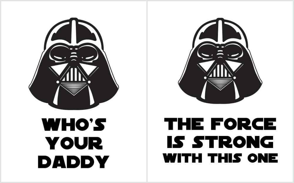 Star Wars Printables, Darth Vader Printables, The force is strong with this one