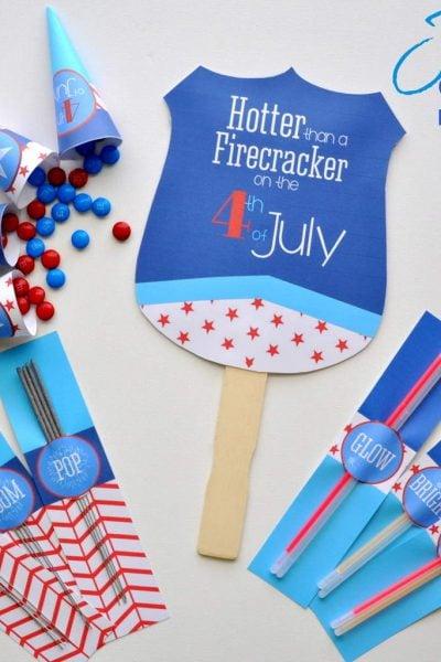 Printable 4th of July Supply Kit