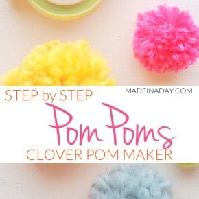 Pom Poms Made Easy: Clover Pom Pom Maker Tutorial 6