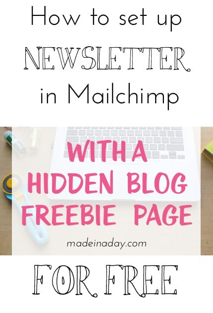 Mailchimp for free