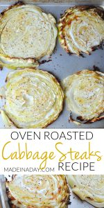 Simple Oven Roasted Cabbage Steaks 1
