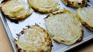 Low Carb Oven Roasted Cabbage Steaks