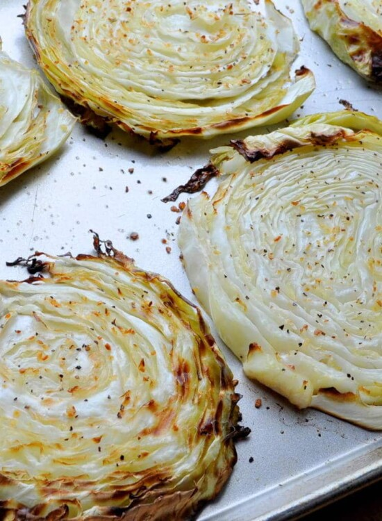 Simple Oven Roasted Cabbage Steaks 34