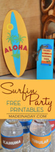 Surfin Party Printables Part 2 1