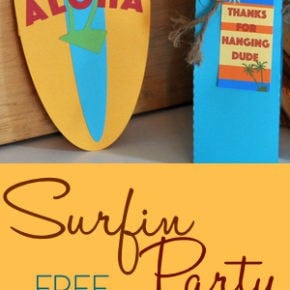 Surfin Party Printables Part 2 31