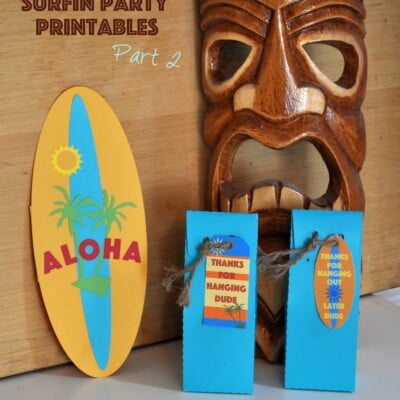 Surfin Party Printables Part 2