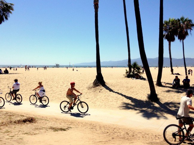 Bike Trails Venice Beach madeinaday.com