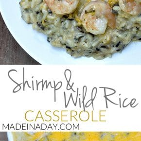 Shrimp Wild Rice Casserole 1