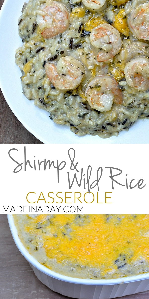 Shrimp Wild Rice Casserole 7
