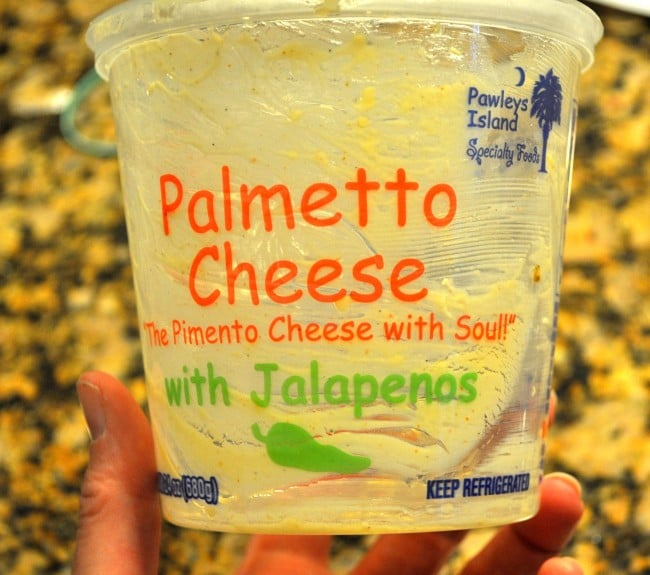 Easy Spicy Pimento Cheese Dip madeinaday.com