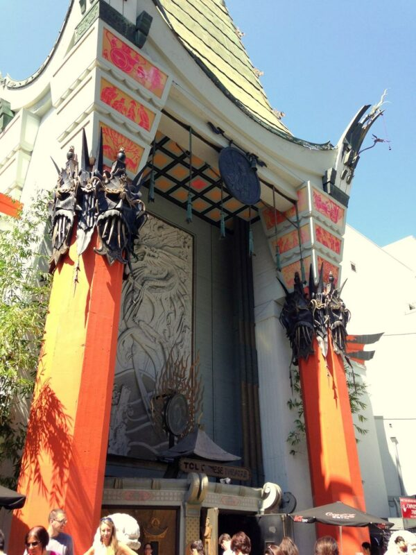 Grauman's Chinese Theatre Hollywood madeinaday.com