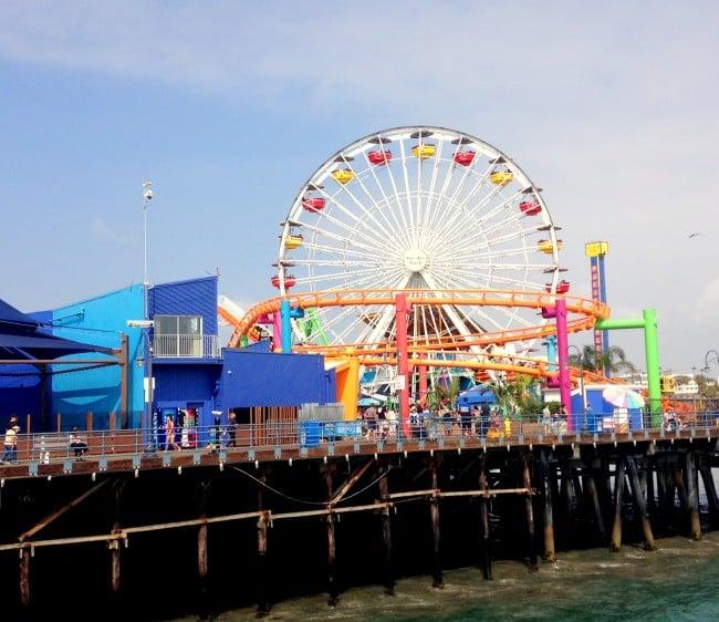 Santa Monica Pier madeinaday.com