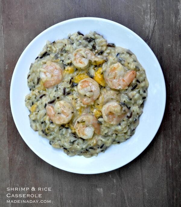 Shrimp & Wild Rice Casserole