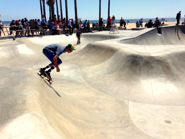 Skate Park Venice Beach madeinaday.com