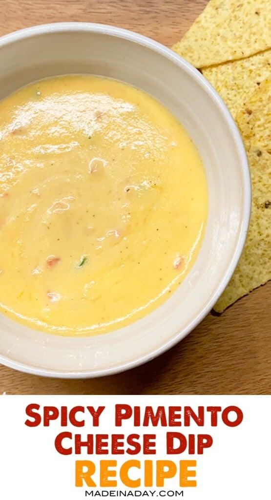 homemade pimento cheese dip