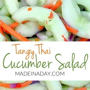 Tangy Thai Cucumber Salad 1