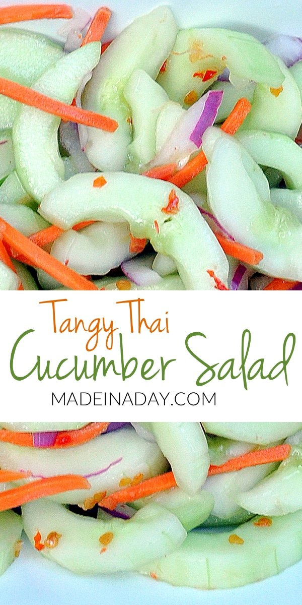 Tangy Thai Cucumber Salad 4