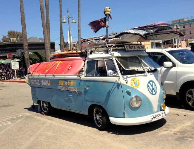 Vw Van Venice Beach madeinaday.com