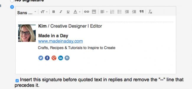 paste into gmail signature