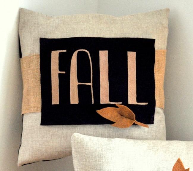 Fall Decor Wrap Tutorial