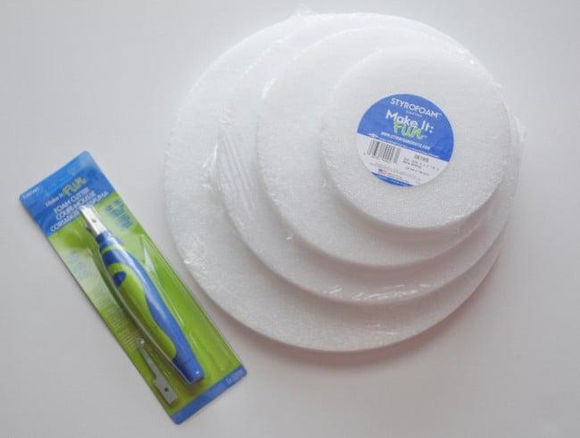 Make it fun Foam Disc Craft
