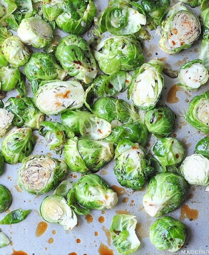 Oven Roasted Balsamic Brussels Sprouts 32