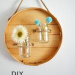 DIY Round Wall Vase