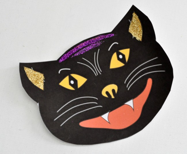 Free Halloween Cat Printable madeinaday.com