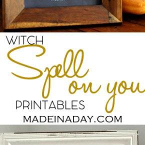 Witch Chalk Art FREE Printables 1