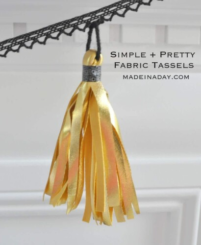 Simple Fabric Tassels 9