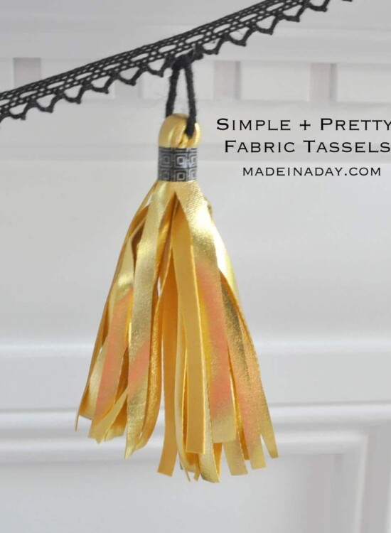 Simple Fabric Tassels 9