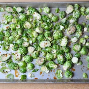 Oven Roasted Brussels Sprouts madeinaday.com