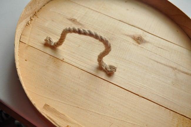 Rope wall vase holders