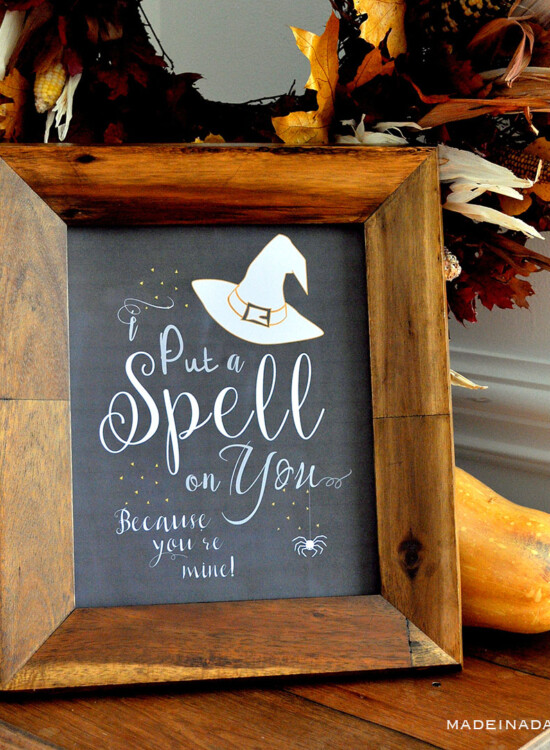 Hocus Pocus Spell On You Printable Free Download 8