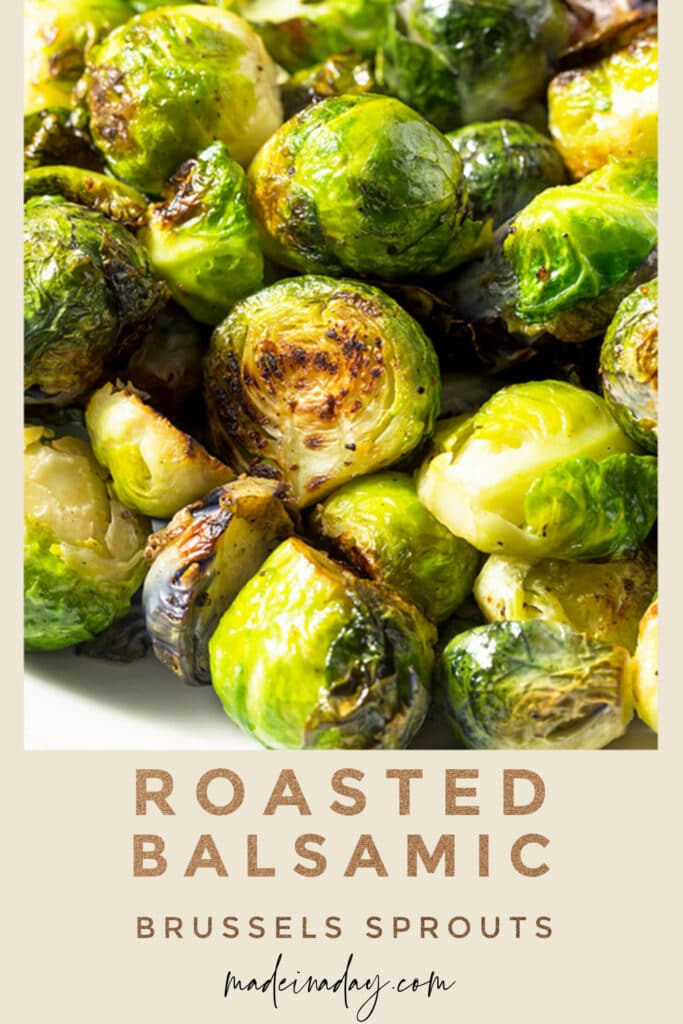 Roasted Balsamic Vinegar Brussels Sprouts