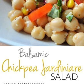 Balsamic Chickpea Salad 31