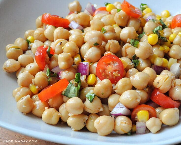Balsamic Chickpea Salad 32