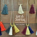 Fall Colors Tassel Necklaces