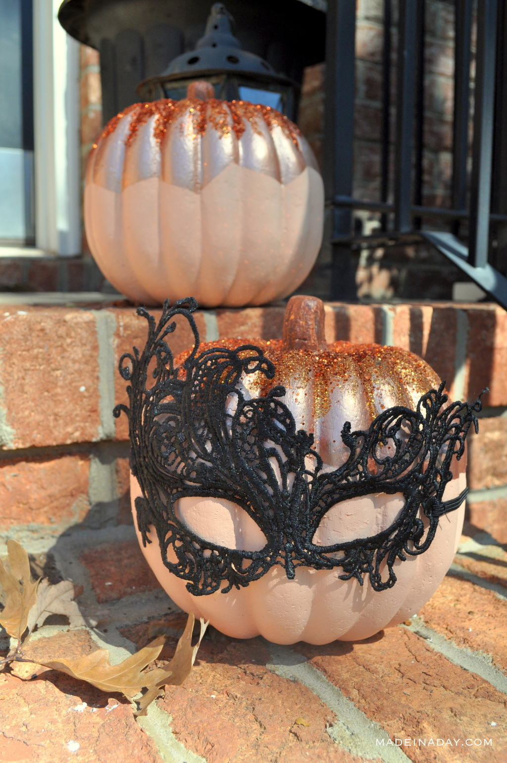 Copper Pumpkins Painting madeinaday.com