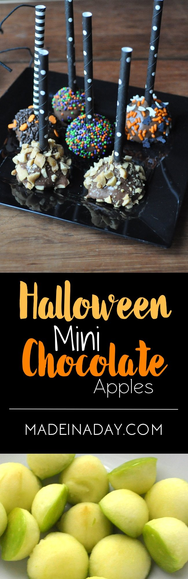 Mini Chocolate Covered Apples 3
