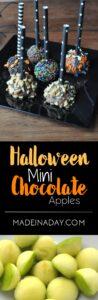 Mini Chocolate Covered Apples 1