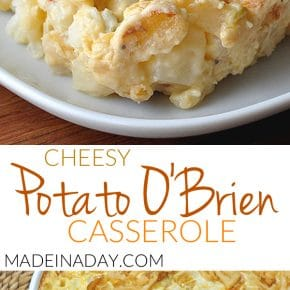Cheesy OBrien Potato Casserole 1
