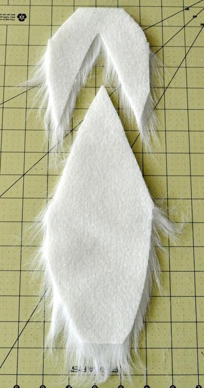 make a beard for a gnome madeinaday.com