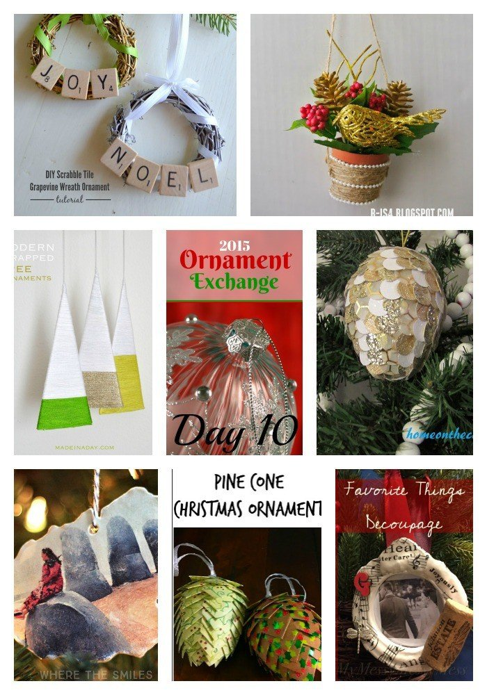 Modern Wrapped Tree Ornaments 6