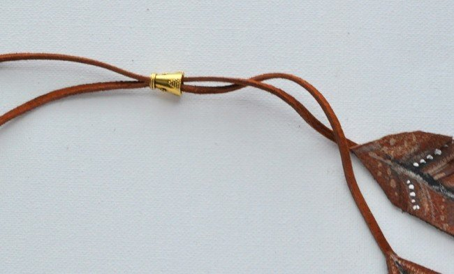 Add a Bead to make a Lariat