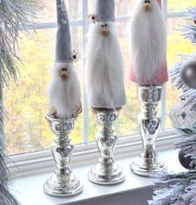 Charming Holiday Gnomes Handmade Craft 1